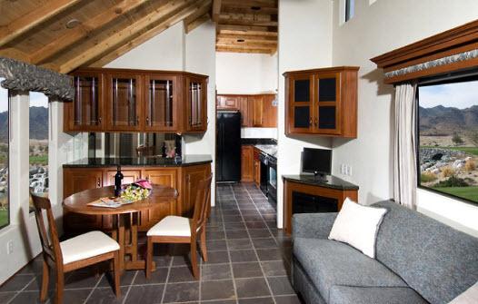 Living room option 2 for Tiny house santa barbara